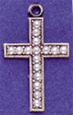 C86 Cross with 16 pearls