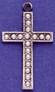 C87 cross with pearls