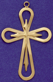 C287 large gold cross