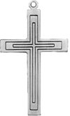 C485 large plain cross