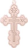 C515 gold large cross