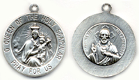 C760 our lady of mount carmel medal