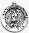 C763 our lady of guadalupe medal
