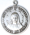 C702 our lady of loretto medal