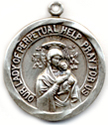 C325 our lady of perpetual help medal