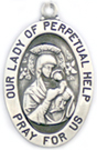 C959 our lady of perpetual help medal