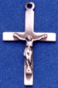 C162 sterling small crucifix