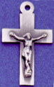 C232 sterling small crucifix