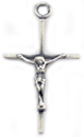 C203 sterling silver wire form cross